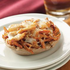 "Mini BBQ Chicken Pizzas Recipe -Deborah Forbes or Fort Worth, Texas writes, ""Just add a salad to these pizzas and you have a quick week night dinner in under 30 minutes. It's very budget friendly, too.""<br> More <a href=""http://www.tasteofhome.com/Recipes/Cooking-Style/Grilling-Recipes/Grilled-Chicken-Recipes"">Grilled Chicken Recipes</a>"