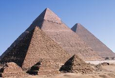 Picture of Pyramids of Giza, Egypt