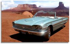"""'66 Ford Thunderbird, from the film """"Thelma and Louise"""""""