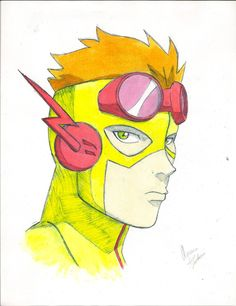 How To Draw Kid Flash Young justice: kid flash