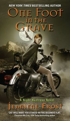 One Foot in the Grave (Night Huntress, By: Jeaniene Frost Publisher: Avon Published: April 2008 Genre: Urban Fantasy Rating: Goodreads Vampire Series, Vampire Books, I Love Books, Good Books, Books To Read, Big Books, Reading Books, Free Books, Paranormal Romance Books