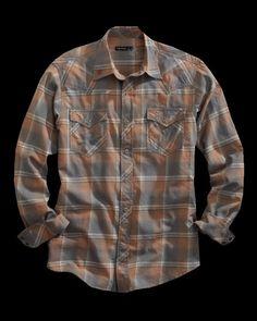 Harvest : Mens Tin Haul® Snap Shirt   Free Shippin on Western Shirts for Men