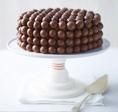 Malteser chocolade taart