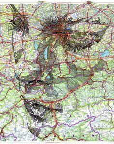 Área Visual: Los retratos cartográficos de Ed Fairburn