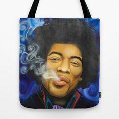 The Purple Haze Tote Bag by Lauri Loewenberg - $22.00