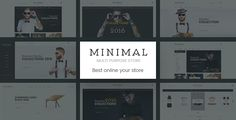 Minimal - Summer Fashion Ecommerce HTML5 . Minimal – Summer Fashion Ecommerce HTML5 is a full-responsive html template which is used for multipurpose online store page (Wine, Fashion, Shoes, Jewelry, Interior, ...). It has 31 HTML pages with 12 homepages. Every single element of this template is entirely responsive, as content can be viewed