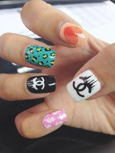 Chanel Mix and Match Nail Art Nail Wrap | chichicho~ nail art addicts