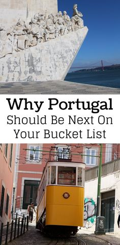 Portugal is a beautiful country with so much to offer. We absolutely LOVED Portugal. The food in Portugal was absolutely delicious and the sights were beautiful. Don't forget to save this Portugal guide to your travel board!