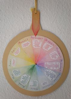 festival wheel: this concept could be great for mapping out the liturgical year!