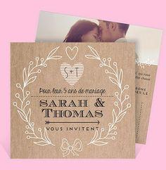 noce de noces de bois anniversaire 50 ans anniversaire invitations mariage rf mariage pour 40ans de 5 ans autres - Noce 50 Ans De Mariage