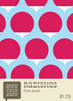 Radish Seeds by EVRT Studio, via Flickr