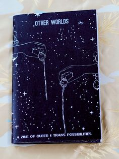 Other Worlds Zine, Queer Futures, Prophecies, Outer Space, Queer Visions, Art Zine, Fortune Teller