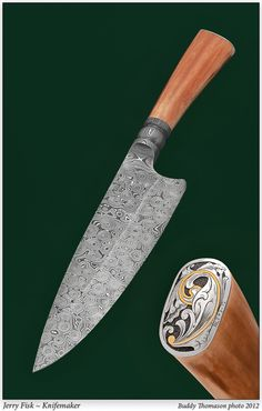 Knife Gallery (SOLD - Example Only)/Chef knife - Jerry Fisk Knives