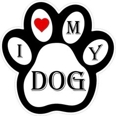 Pawprint Decals/Bumper Stickers/Labels by Miller Concepts