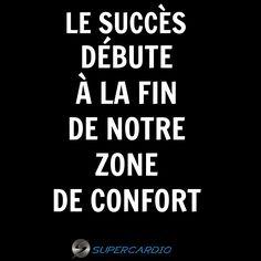 Sors de ta zone de confort ! #citation #zonedeconfort #succes