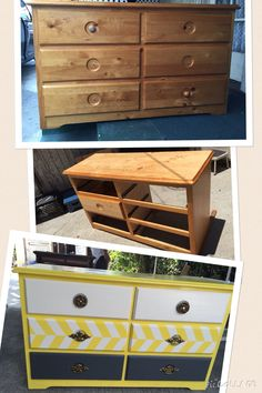 For baby Reyes DIY changing table