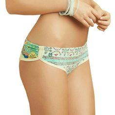 $64.95 Maaji Wandering Citrus Reversible Bikini Bottom - Women's