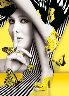 Splash Photography, Body Photography, Fashion Photography, Black White Art, Black Canary, Black N Yellow, Monte Carlo, Color Splash Photo, Chica Fantasy