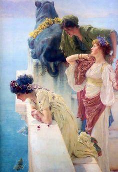 Desde el Renacimiento hasta nuestros días: Lawrence Alma Tadema (1836-1912)