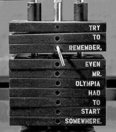Try to Remember, Even Mr. Olympia Had to Start Somewhere. #mrolympia #motivation