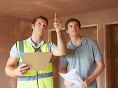 Builder And Inspector Looking At New Property - The Top 7 Mistakes to Avoid When Buying Property for Sale - Home Buying Process, Home Inspection, New Property, Building A New Home, First Time Home Buyers, Home Repair, Home Insurance, Way Of Life, Real Estate Marketing