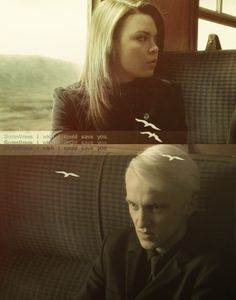 Pansy and Draco I SHIP IT