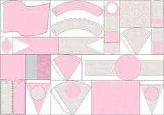 Pink, Lilac and Grey: Free Party Printable.