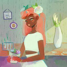 "vickisigh: "" curiosity & growth "" Follow @melaninprincess"