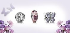 A sneak peek of these beautiful #Pandora butterfly charms from the upcoming Spring 2014 collection.   The butterfly is traditionally regarded as a powerful symbol of transformation, renewal and rebirth. They are fluttering reminders to make changes when the opportunity arises and to follow your dreams.    176 Broadway, NYC  212-732-0890 — at William Barthman Jeweler.