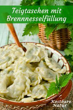 Die gesunde Brennnessel als schmackhafte Füllung für Ravioli. Frisch aus der Natur auf den Mittagstisch - einfach lecker!