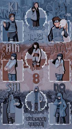 Png Wallpaper: Time 8: Kiba Inuzuka, Hinata Hyuga e Shino Aburame