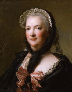 Portrait of Marie Leczinska (Leszczynska), Queen of France (1703-1768) Jean Nattier c. 1573