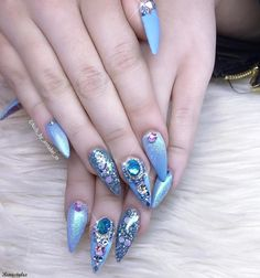 100 BEST NAIL POLISH FOR SEASON 2017 - Reny styles Best Nail Polish, Gel Polish, Nails 2017, Stiletto Nail Art, Colorful Nail Designs, Nail Art Galleries, Cool Nail Art, Nails Magazine, How To Feel Beautiful