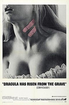 60 Great Horror Movie Posters: Dracula Has Risen from the Grave (1968)