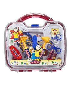 Another great find on #zulily! #Caillou #Medical #Toy Set by Caillou #zulilyfinds