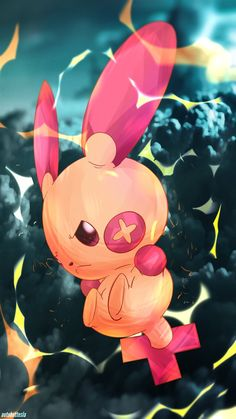 Day 357 - Plusle (Shiny) by AutobotTesla on DeviantArt