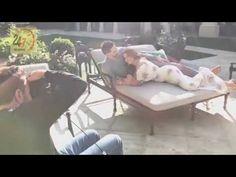 SOFIA VERGARA AND JOE MANGANIELLO POSE FOR MAGAZINE COVER SHOOT AT HOME - YouTube