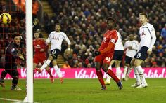 Mario Balotelli scores his first EPL goal for Liverpool and the winner in the victory against Spurs Premier League Goals, White Hart Lane, Tottenham Hotspur, Liverpool Fc, Football Soccer, Victorious, Mario, England, Sports