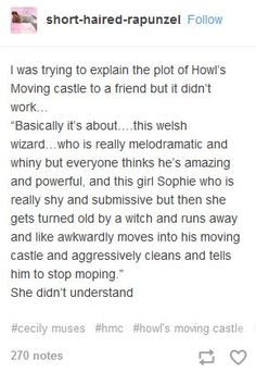 Wow. That is pretty much the plot, and it makes the book/film sound way lamer than the actually are...