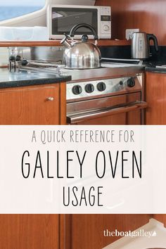 A boat galley oven is not like your land-based oven. Here's how to make it work for you. Living On A Boat, Tiny Living, Cooking Tools, Cooking Recipes, Boating Tips, Make It Work, Keep It Cleaner, Food To Make, I Am Awesome