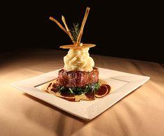 Filet Mignon entree Steak Menu, Steak Butter, Dinner Entrees, French Kitchen, Wedding Dinner, Filets, Butter Recipe, Fine Dining, Nom Nom