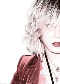 Ruki (the GazettE) Visual Kei, Ruki The Gazette, Drum Band, Punk Rave, One Ok Rock, Band Memes, Cool Bands, Pretty People, Beautiful Men