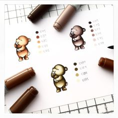 Copic Pens, Copic Art, Copic Sketch Markers, Copics, Copic Markers Tutorial, Copic Ciao, Alice In Wonderland Book, Color Of The Day, Mama Elephant