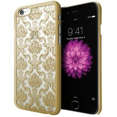iPhone 6 Case, Cimo [Damask] Apple iPhone 6 Case Design Pattern Premium ULTRA SLIM Hard Cover for Apple iPhone 6 (4.7) - Gold:Amazon:Cell Phones & Accessories