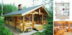 Elk Tine Log Cabin