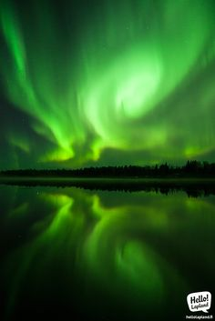 """The Magic Swirl. The Aurora was moving very fast, rolling in the sky in a round motion, which left this incredible swirl imprint on the """"tape"""".  2.10.2013 in Rovaniemi, Lapland, Finland."""