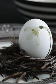 .A elegance easter egg celebrating the essence of spring.