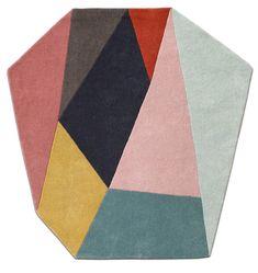Moderne tepper i forskjellige størrelser og fasonger til hjemmet ditt