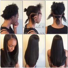 Before & AfterFLAWLESS SEW-IN HAIR WEAVES by Natalie B. (312) 273-8693...IG: @iamhairbynatalieb ...FACEBOOK: Hair by Natalie B. .....ORDER HAIR: www.naturalgirlhair.com.