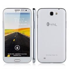 THL W9 Beyond 5.7 Inch Full HD Screen Quad Core MTK6589T 1.5GHz Dual Camera White - Android Phones